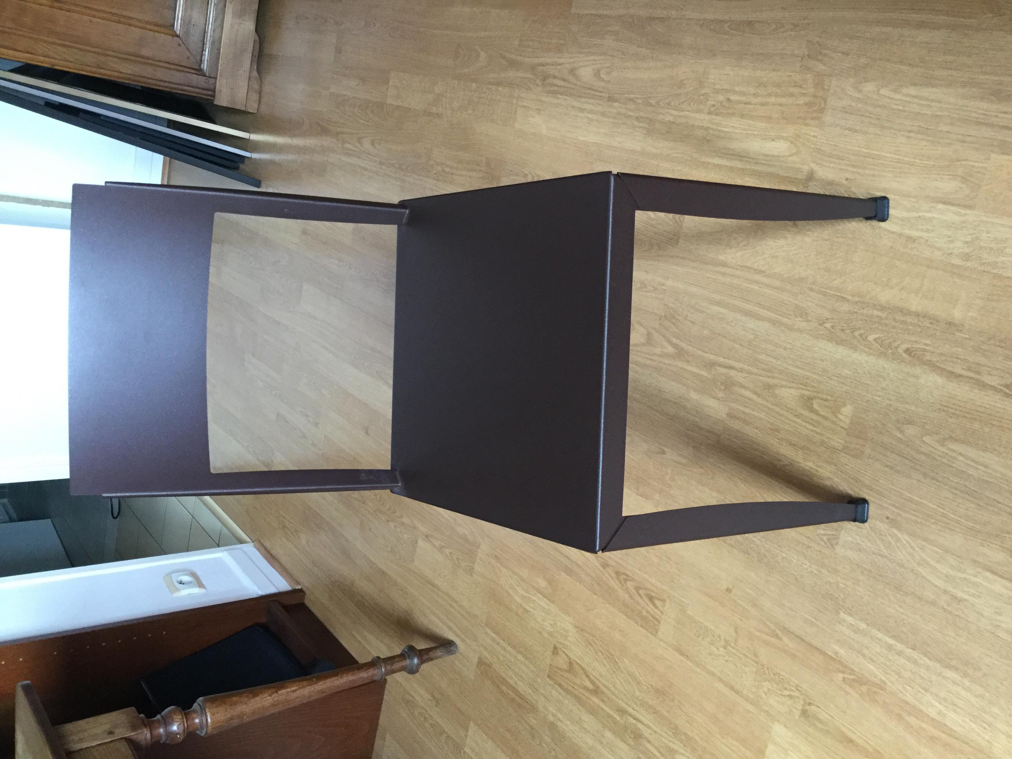 chaise métal style industrie 10 Rouen (76)