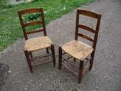 Chaise paillée Languedocienne ancienne 30 Castres (81)