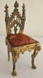 Chaise Porte montre gothique régule ou miniature poupée Issy-les-Moulineaux (92)