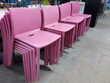 Chaise en résine rose empilable  Toulouse (31)