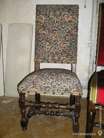 Chaise de style Louis XIII 50 Montpellier (34)