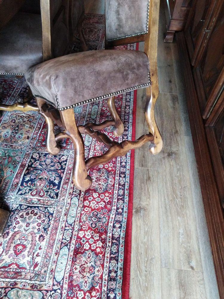 "6 Chaise de style Louis XIII dite ""Os de mouton"" Meubles"