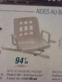 chaise de toilette 15 Saint-Martin-d'Hères (38)