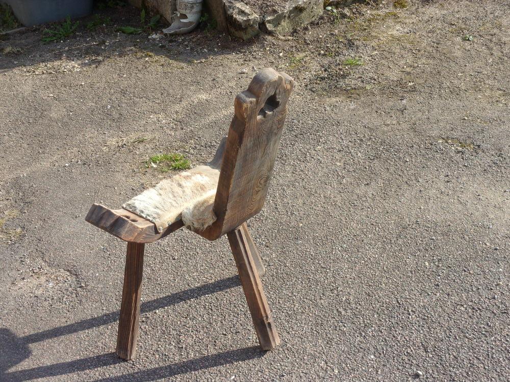 chaise de traite 25 Sassangy (71)