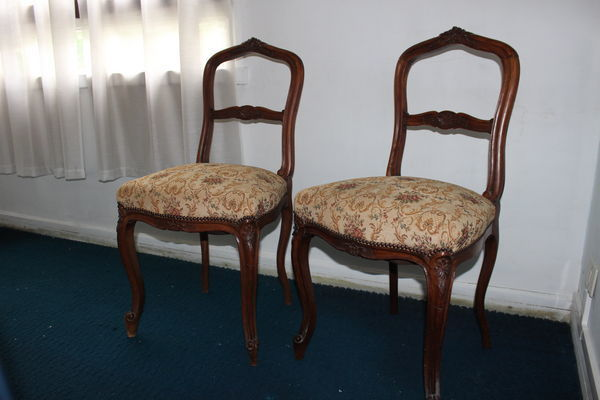 Chaises anciennes tapisserie 25 Athis-Mons (91)