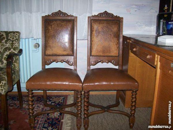 6 chaises anciennes 100 Bischwiller (67)