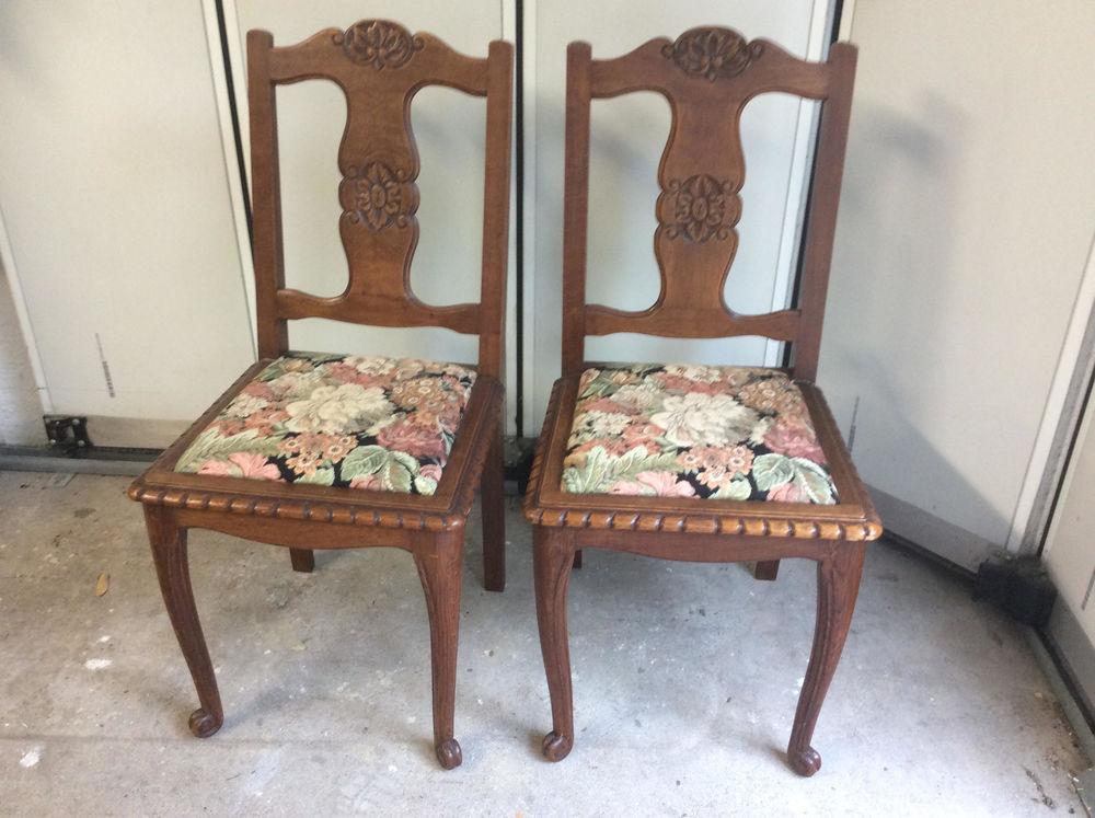 Achetez chaises anciennes occasion annonce vente combleux 45 wb156600731 - Chaises anciennes occasion ...