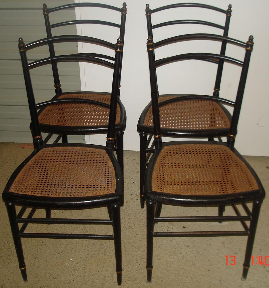 Style De Chaises Anciennes achetez 4 chaises anciennes occasion, annonce vente à