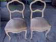 Lot de 2 chaises anciennes