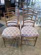Lot de 4 chaises assises tissu 60 Toulouse (31)
