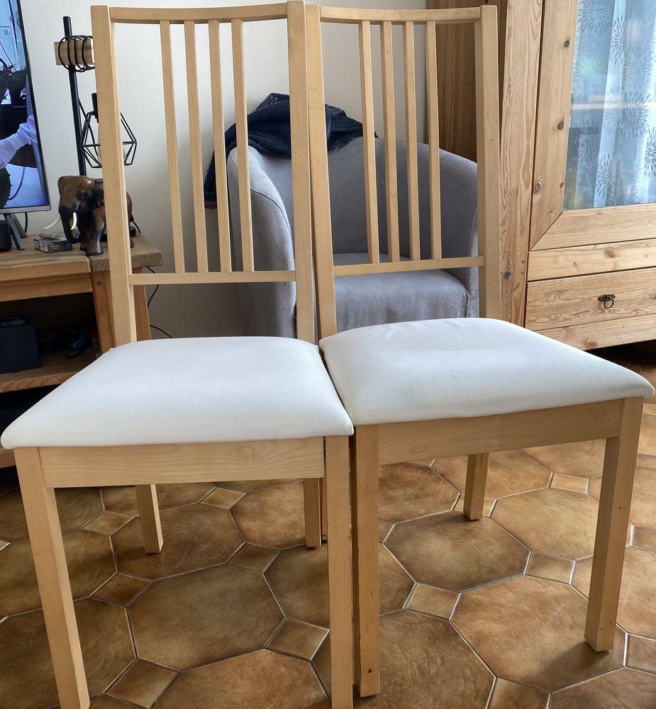 4 CHAISES ASSISES TISSUS IKEA 90 Villeparisis (77)