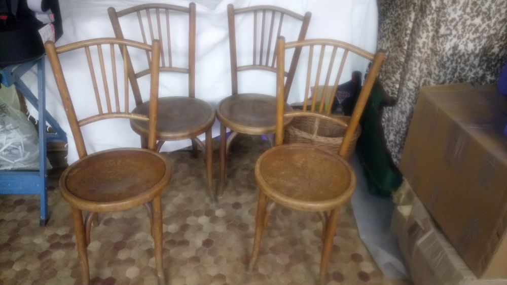 Chaises bistrot bois 140 Nevers (58)