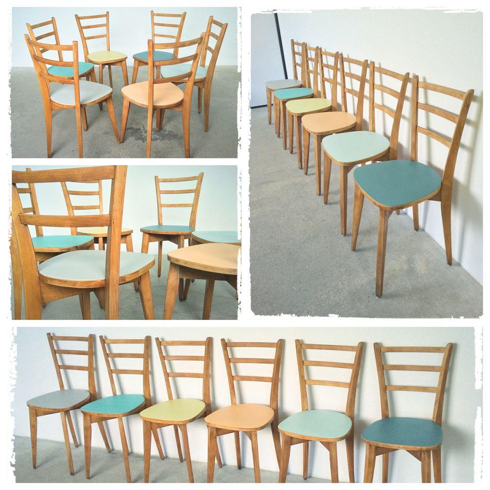 Achetez 6 chaises bistrot occasion annonce vente rennes 35 9926835130 - Chaises vintage occasion ...