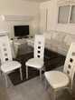 chaises blanche en similicuir Meubles