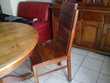 chaises bois exotique Meubles