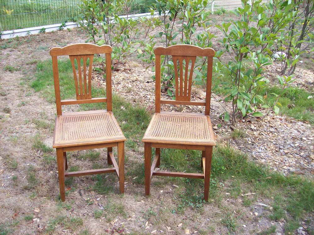 Bois Vintage Bois 2 Chaises 2 Chaises Chaises Vintage 2 6vyY7bfg