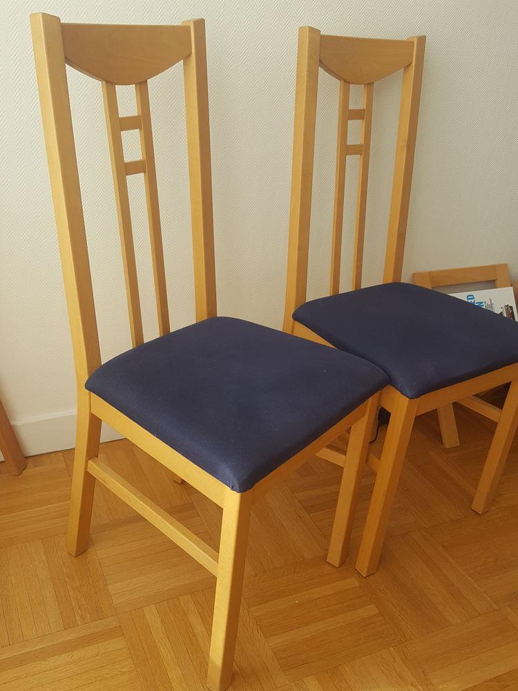 4 chaises bois 50 Boulogne-Billancourt (92)