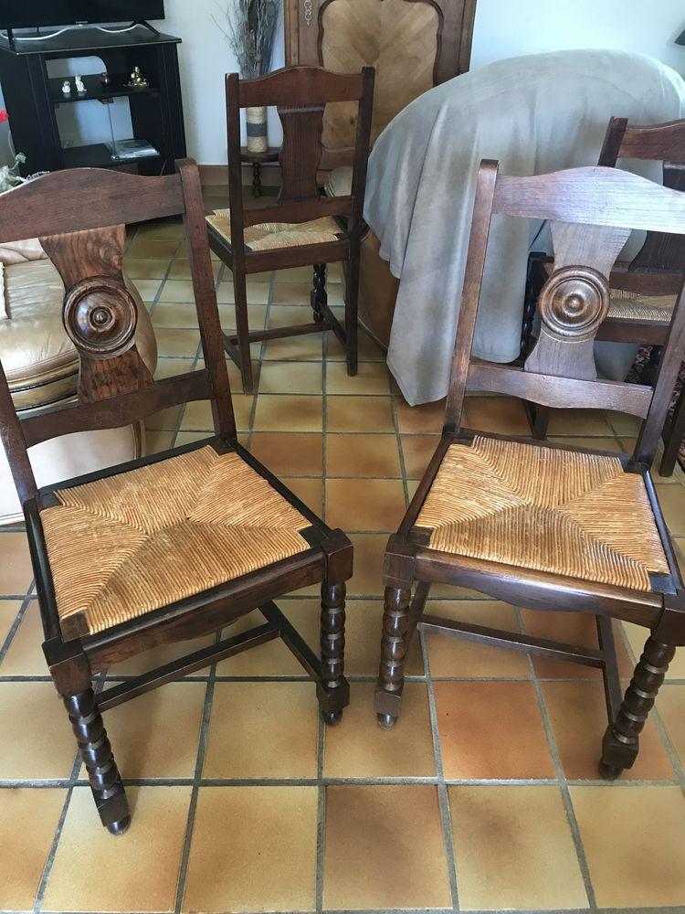 6 Chaises bois 90 La Chapelle-sur-Erdre (44)