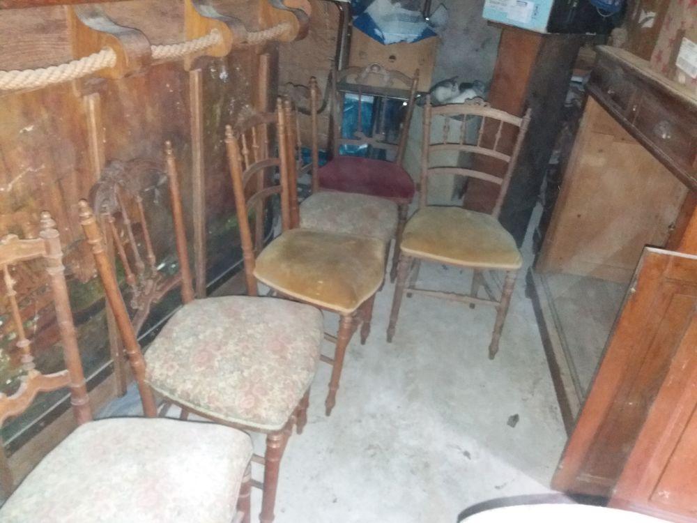 6 chaises coquilles 60 Châteauneuf-sur-Loire (45)