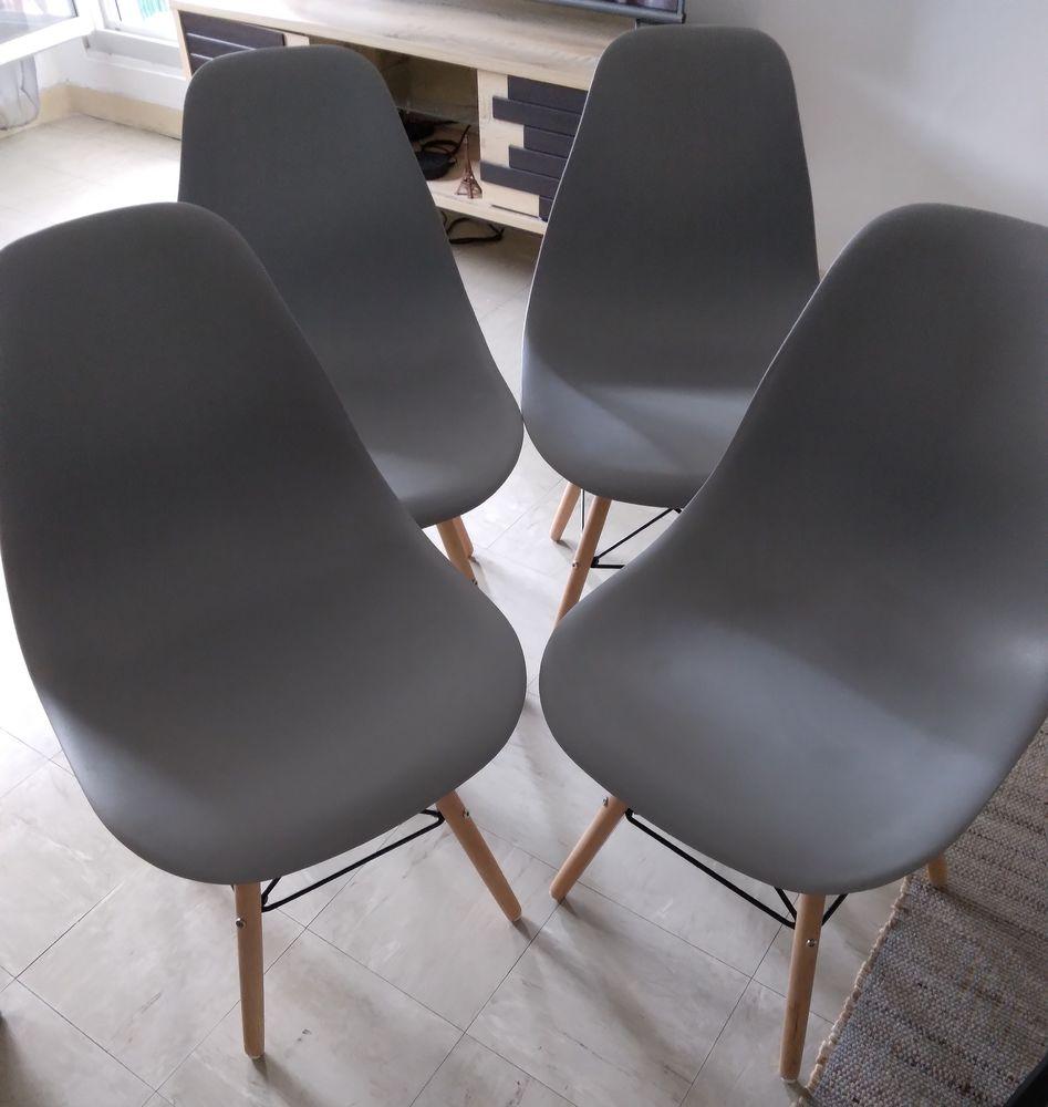 Lot de 4 chaises design Meubles