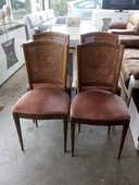 Lot de 4 chaises dossiers cannés 60 Toulouse (31)