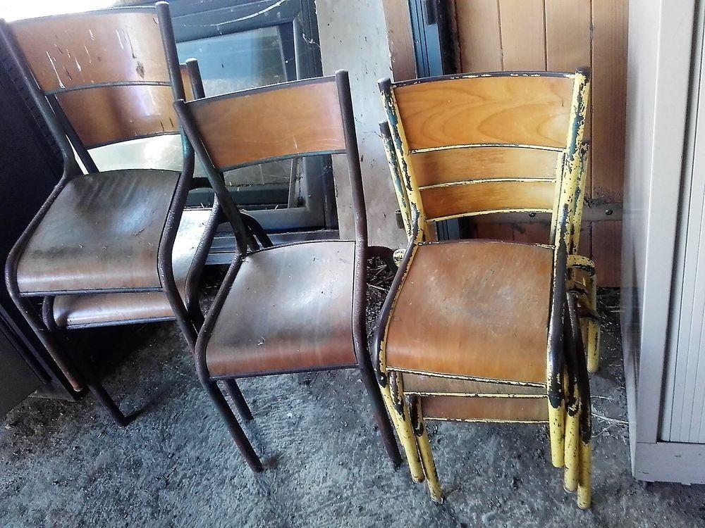Chaises d'école maternelle 15 Sarpourenx (64)