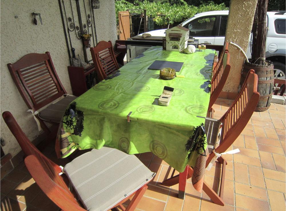 6 chaises extérieur ou intérieur 150 Brignoles (83)