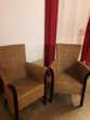 Chaises et fauteuils en rotin naturel verni Hourtin (33)