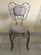 chaises fer forgé Meubles