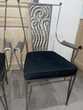 Chaises (lot de 4) en fer forgé. Meubles