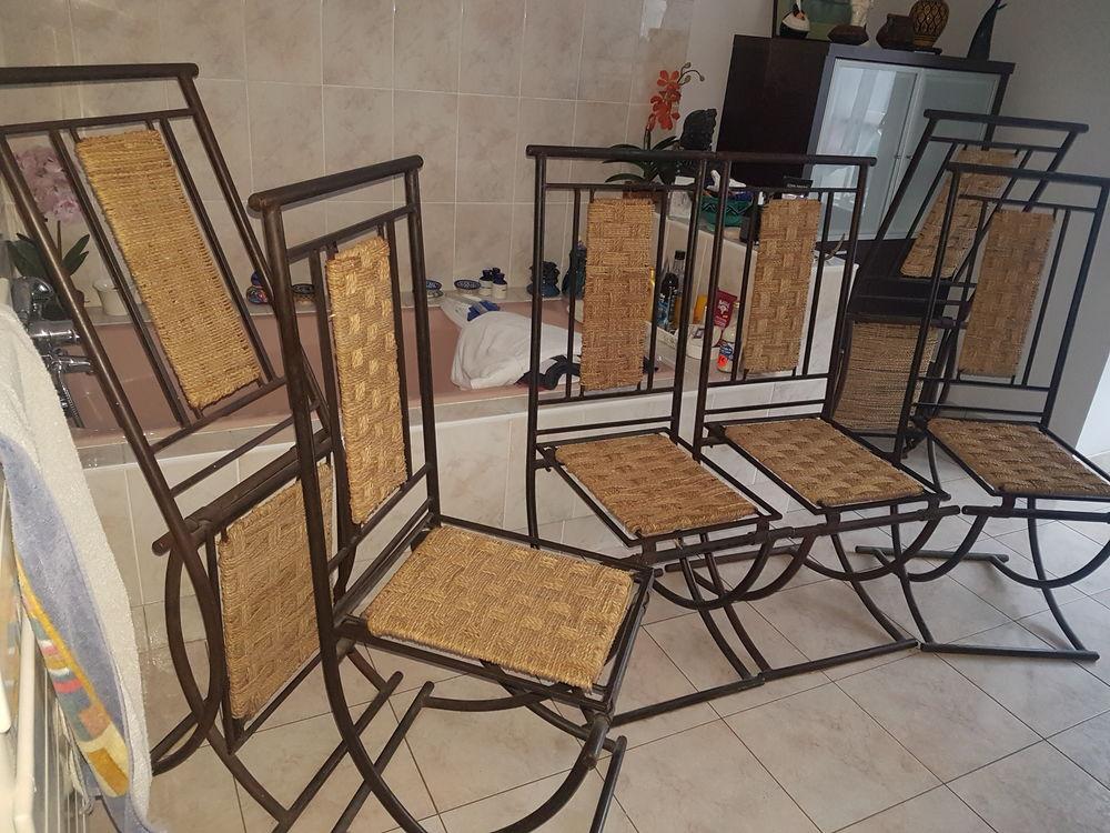 chaises fer forge, lot de 4 25 Orvault (44)