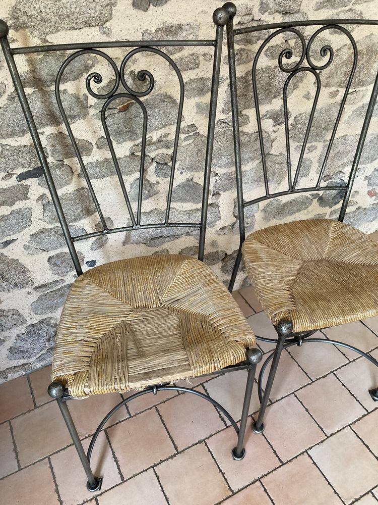 Lot de 6 chaises en fer forgé 0 Le Poiré-sur-Vie (85)
