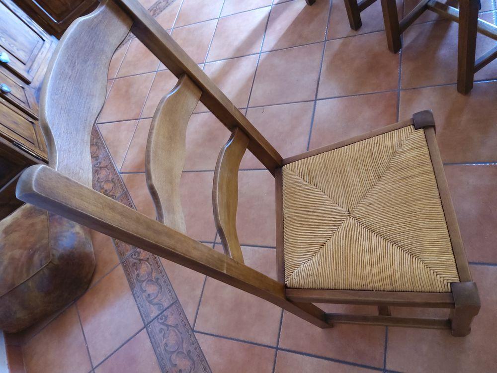 6 chaises en frene assises paillées 100 Quincy-Voisins (77)