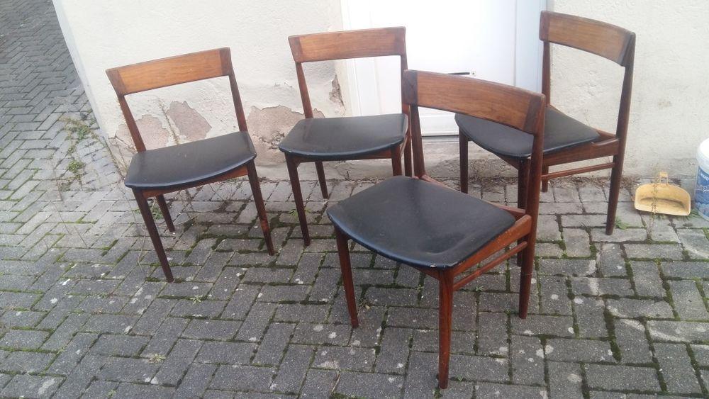 Lot de 4 chaises Henry Rosengren Hans 1000 Strasbourg (67)