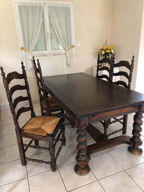 4 chaises en Hêtre 0 La Bernerie-en-Retz (44)