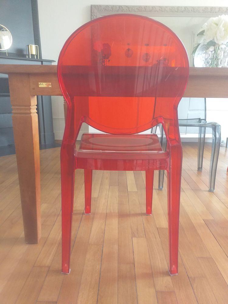 4 chaises Igloo Scab en polycarbonate en bon état 150 Savigny-sur-Orge (91)