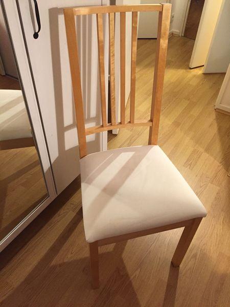 en 4 4 IKEA bois chaises chaises OiPXZuk
