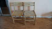 Chaises de jardin en bois  10 L'Haÿ-les-Roses (94)