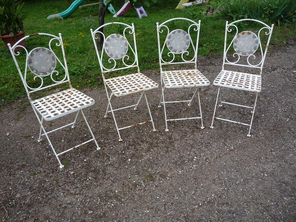 4 chaises de jardin en fer forgé 320 Castres (81)