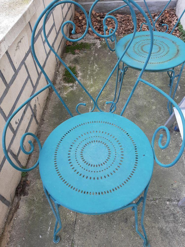 Chaises de jardin fer forgé  50 Drancy (93)