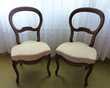 2 Chaises Louis Philippe d'époque refaites à neuf
