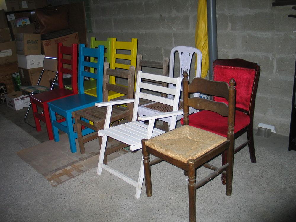 Chaises de maison en bois 6 Quincy-sous-Sénart (91)