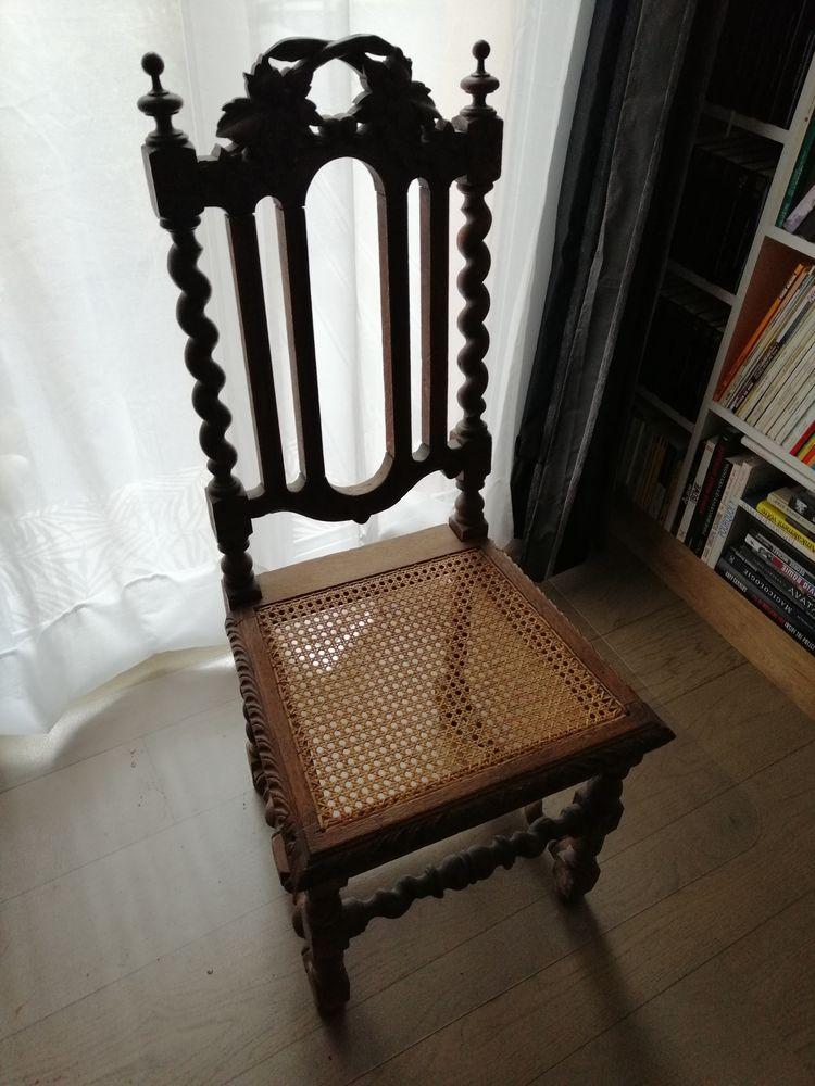 6 chaises médiévales ! 450 Maisons-Laffitte (78)