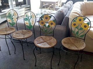 Lot de 4 chaises métal 65 Toulouse (31)