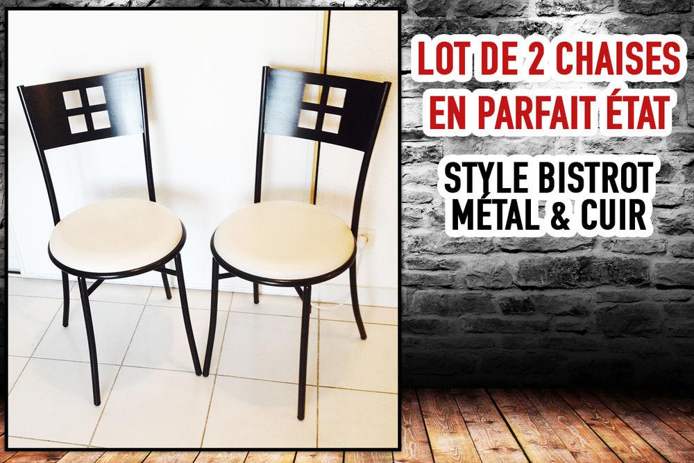 Lot chaises modernes comme neuves 35 Marseille 13 (13)