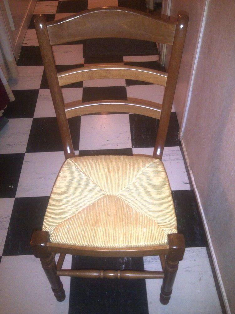 4 chaises en osier 150 Antony (92)
