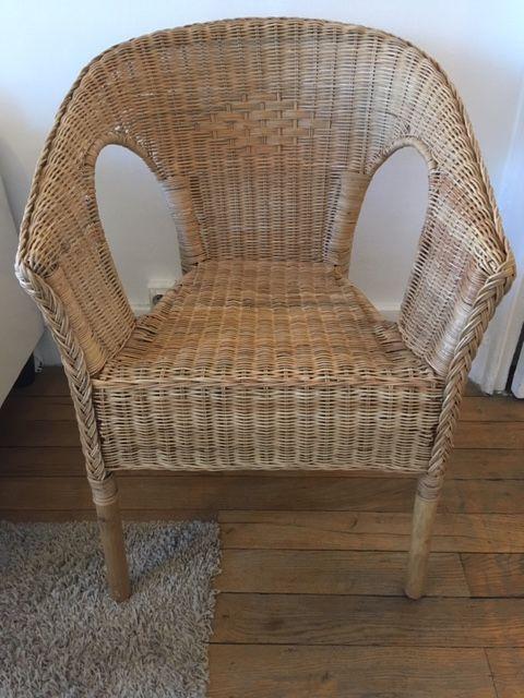2 chaises osier 20 Lyon 5 (69)