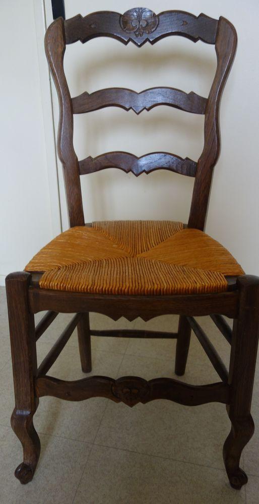 4 chaises paillées 130 Pont-Audemer (27)