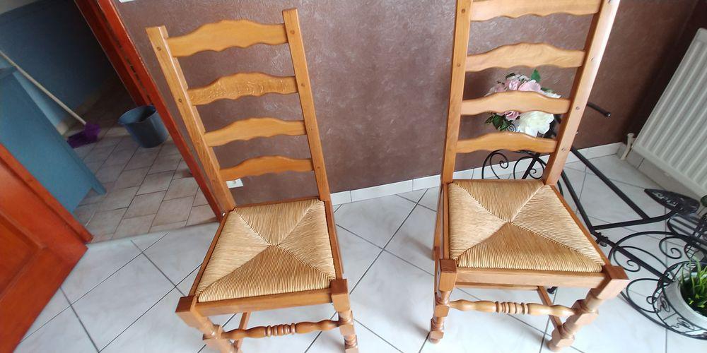 lot de chaises paillées 0 Le Grand-Quevilly (76)