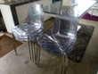 Lot de 6 chaises en plexiglas Toulouse (31)